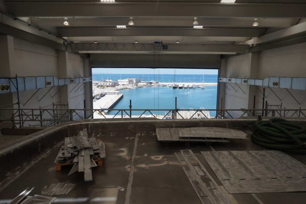 Italian Shipyard Visit featuring WIDER