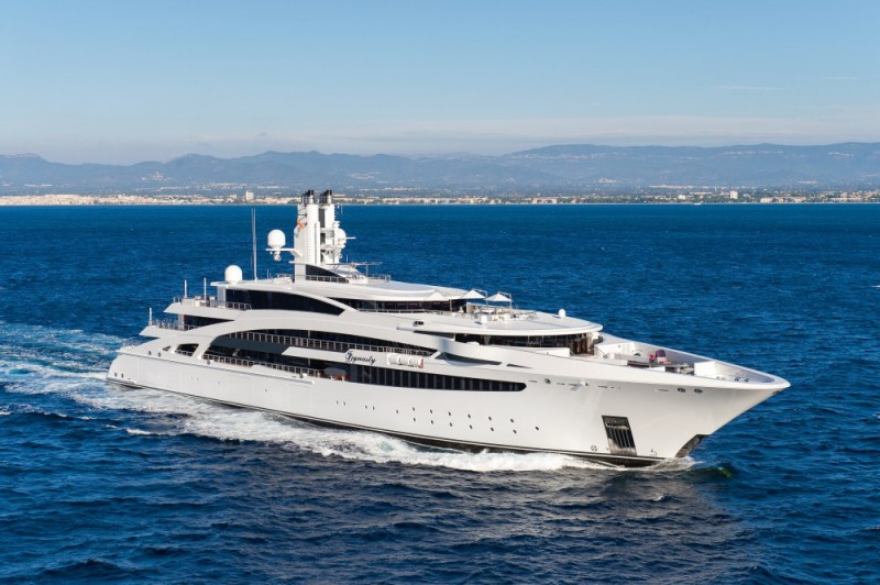 A Spectacular Build – IDYNASTY, 330′ Kusch Yacht