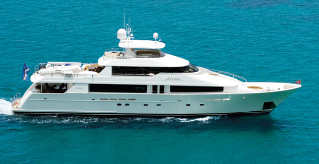 M/Y ARIOSO will be at FLIBS 2016