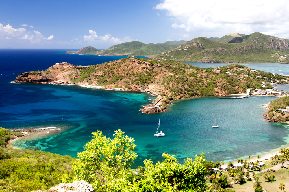 Top 5 yacht chartr destinations - Leeward Islands