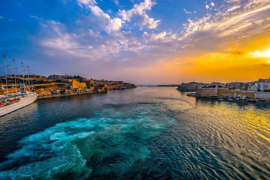 Mediterranean Yacht Charter destination options - Malta