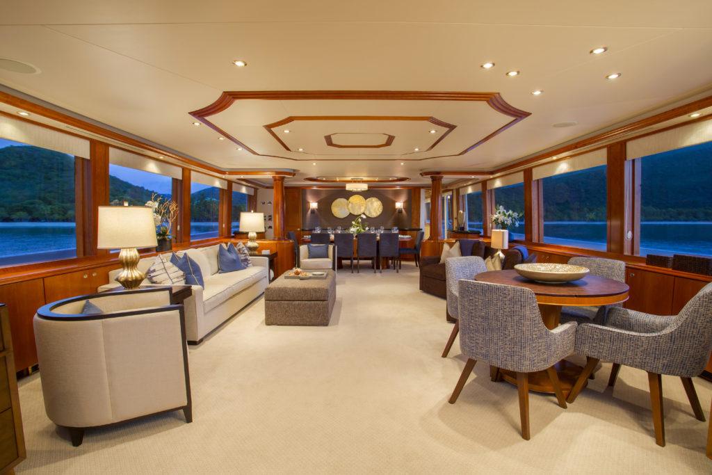 Westport Yachts Interiors