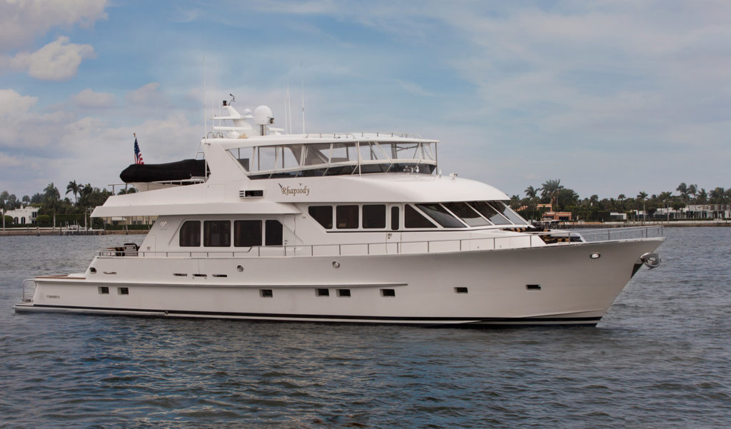 Sold Rhapsody 92 39 Paragon Motor Yachts 2006