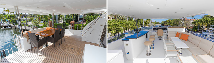 ANA C 76' Hargrave yacht for sale interiors 3
