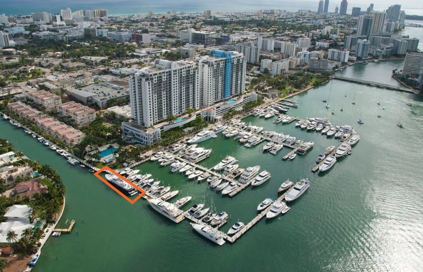 Bayou yacht for sale and slip for sale