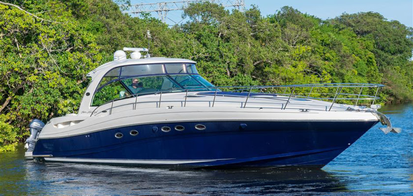 CATS MEOW 50ft Sea Ray Cruiser yacht