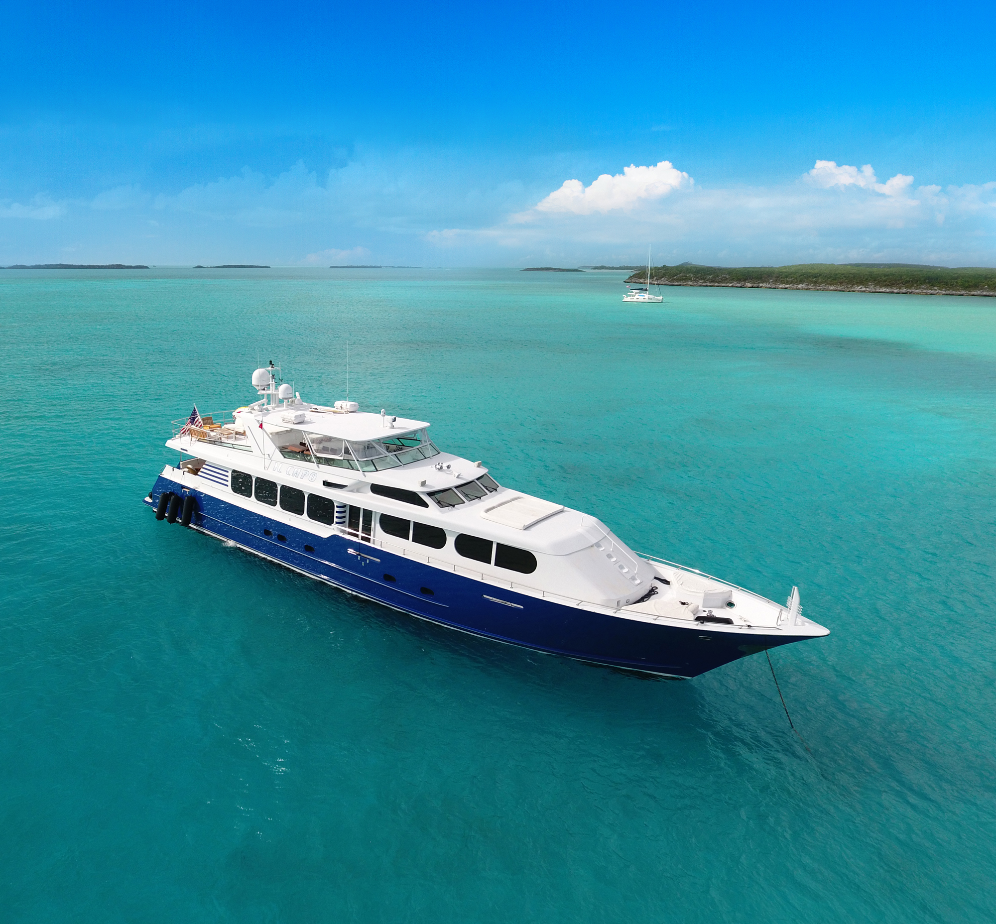 Charter the newly refit 110′ Broward IL CAPO