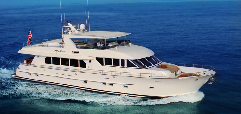 94′ Paragon Available for Purchase with Worth Avenue Yachts