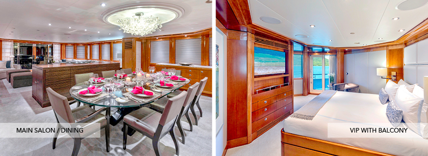 charter yacht AQUAVITA, Bahamas charter yacht, motor yacht AQUAVITA