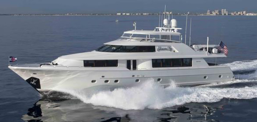 ANOTHER YACHT SOLD! – 112′ Westport SHARON LEE