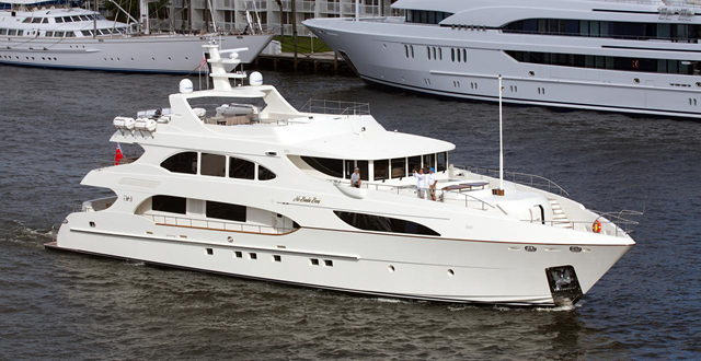 Palm Beach International Boat Show 2017 - yacht for sale 127 NO BADA BEES
