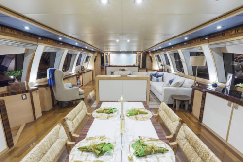 BW yacht for sale and charter salon