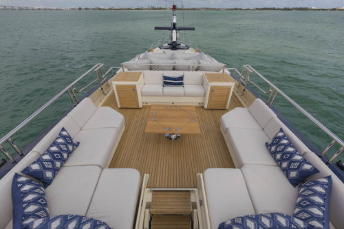 BW yacht for sale and charter sun-deck