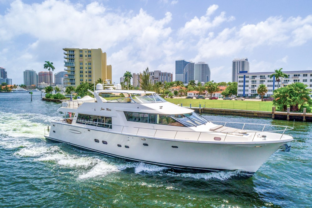 Motor Yacht JOAN MARIE 85′ Pacific Mariner 2008 For Sale