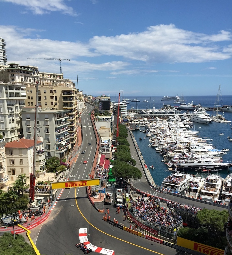 Monaco Grand Prix yacht charter, The Turn