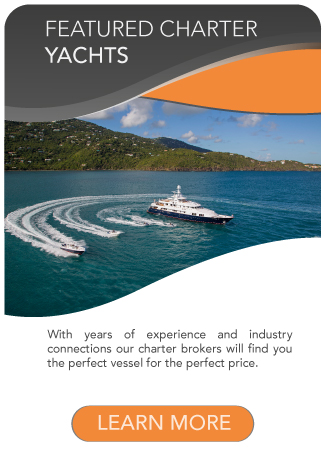 Featured Charter Yachts