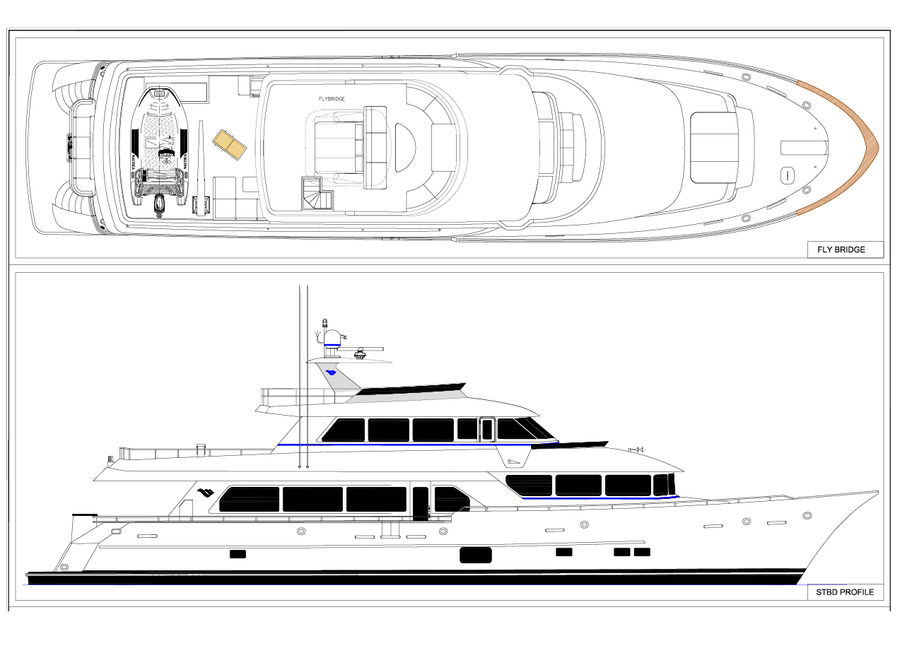 New Construction 108 PARAGON TRI DECK YACHT FOR SALE