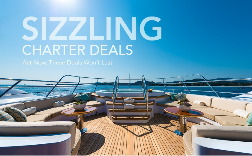 Luxury Yacht Charter Special Rates – Limited Time Offers!