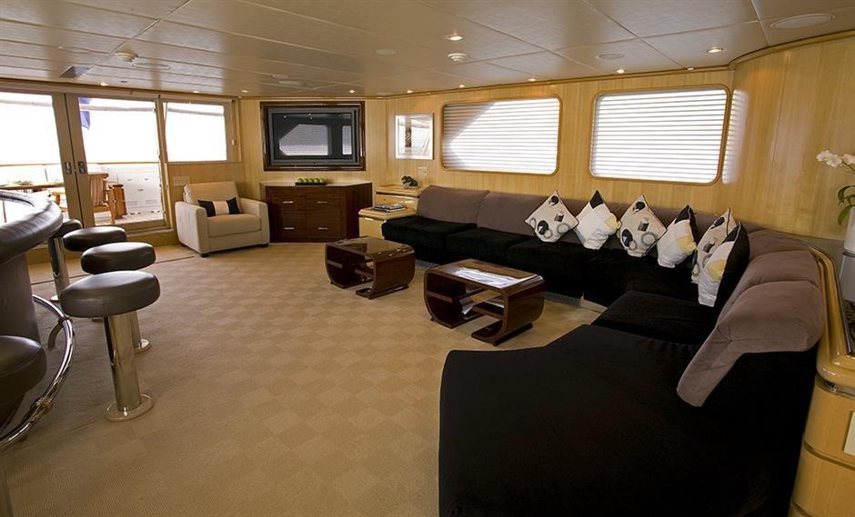 explorer yacht MAVERICK 138' Sterling Yachts for sale