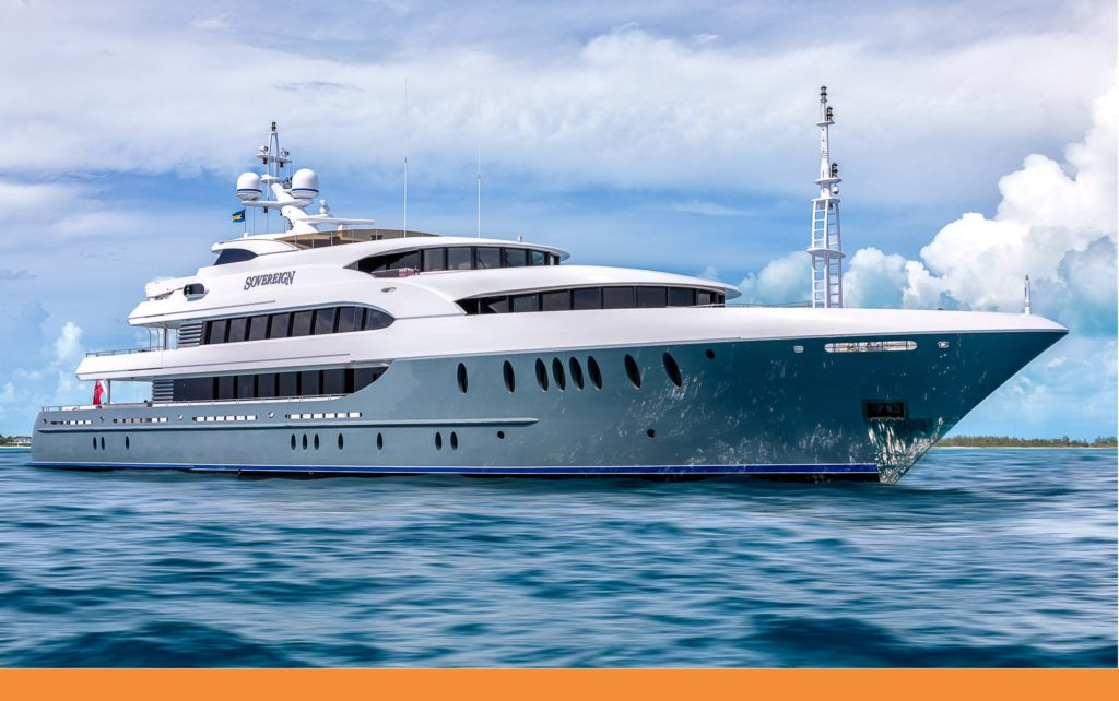 Indulge With A Luxurious Lifestyle On Mega Yacht SOVEREIGN 180′ Newcastle