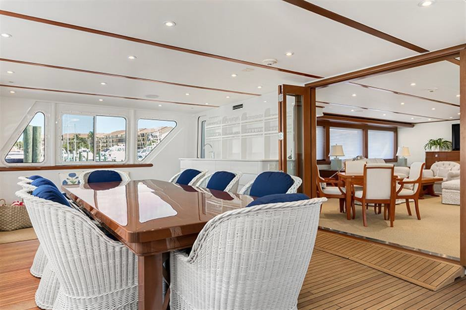 Madcap 114 Newcastle yacht for sale worth avenue yachts