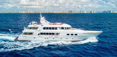 145 TRINITY RELENTLESS YACHT FOR SALE