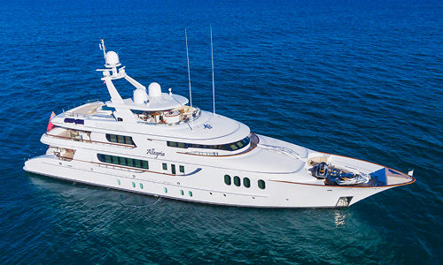 152' HAKVOORT YACHT ALLEGRIA FOR SALE