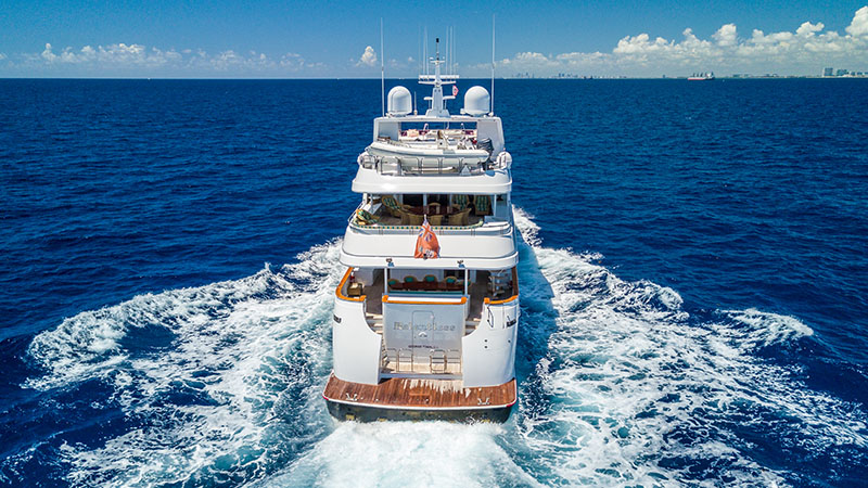 RELENTLESS 145 TRINITY YACHT FOR SALE AND CHARTER YACHT profile 3