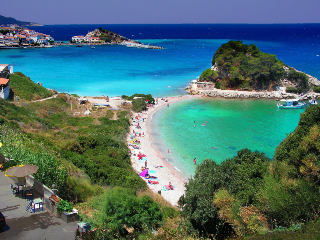 Greek Island yacht charter destination: The Aegean Island, Samos