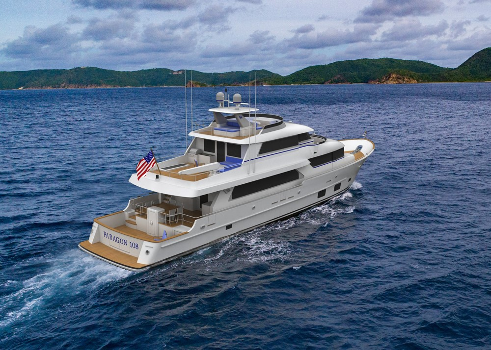 New Construction Paragon Motor Yachts 108 Tri Deck