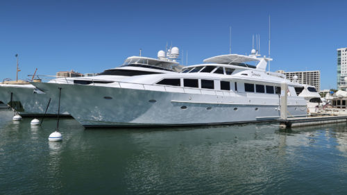 102' Crescent DETERMINATION - yacht for sale