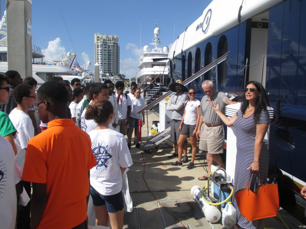 Over 100 Students Participate in Marine Industry Immersion Summer Camp