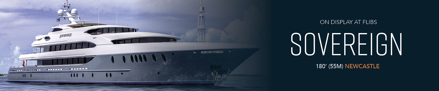 MEGA YACHTS AT FLIBS