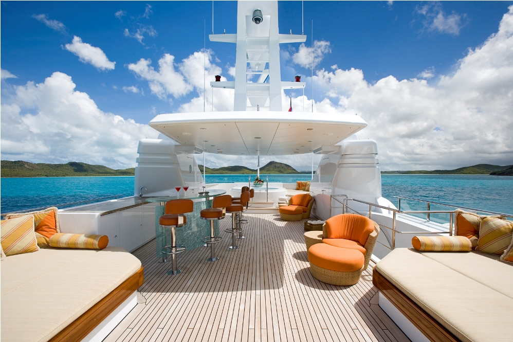 Five Luxury Yachts With Excellent Entertaining Spaces