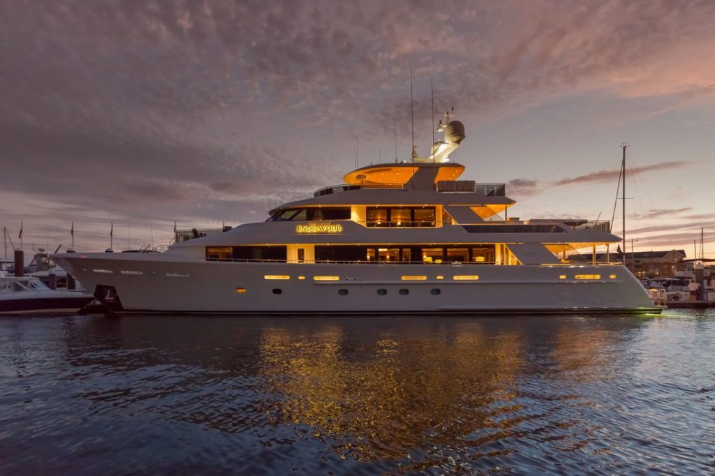 130′ Westport Yacht ENDEAVOUR offered for Sale by Worth Avenue Yachts