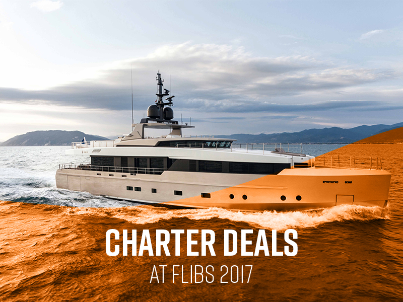 Yachts for Charter at The Fort Lauderdale Boat Show