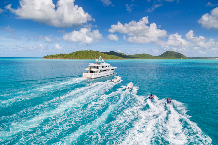 What to Expect on a Superyacht Charter - charter yacht MIM