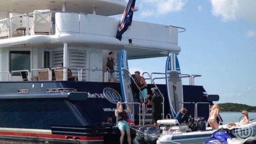 What to Expect on a Superyacht Charter - charter yacht She's A 10 crew
