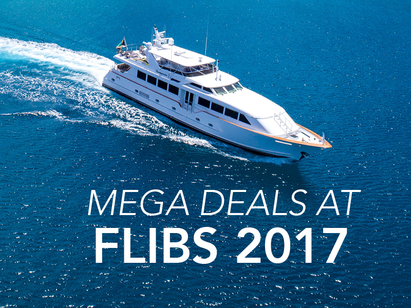 Check out the Top 15 Yacht Deals at the 2017 Fort Lauderdale Boat Show