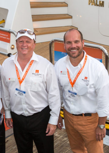 Yacht Broker Brian and Yacht Broker Michael, CEOs at Worth Avenue Yachts
