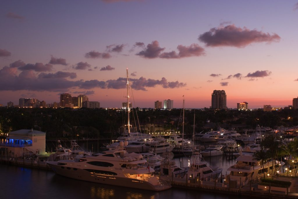 What is a yacht broker? Yachts in yachting epicentre Fort Lauderdale