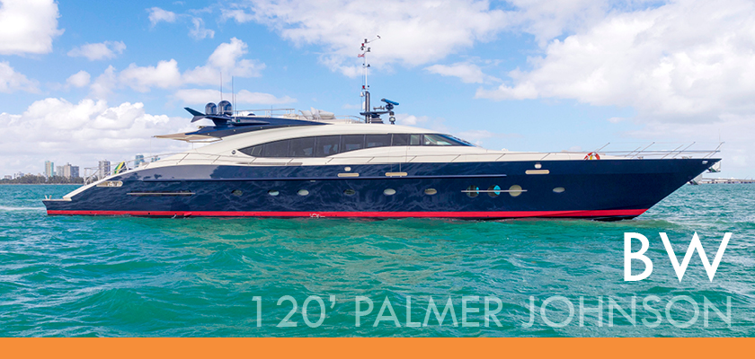 BW 120′ Palmer Johnson – CHRISTMAS SPECIAL!