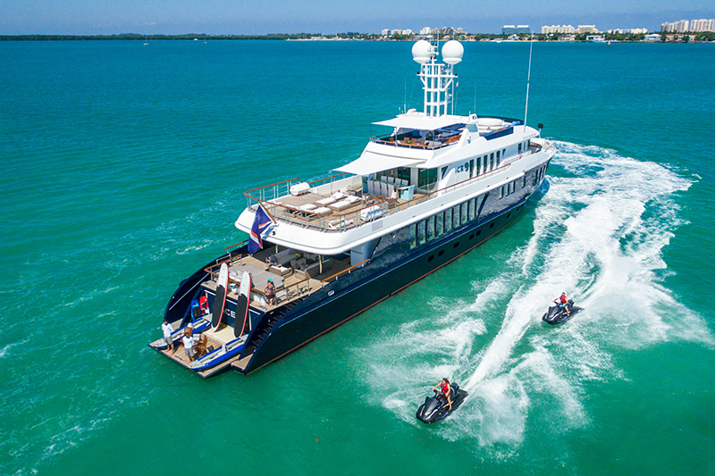 139′ ICE 5 Proteksan Available for Charters!