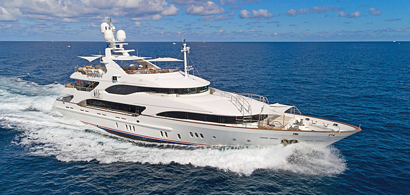 Benetti yachts for sale M/Y Catching Moments