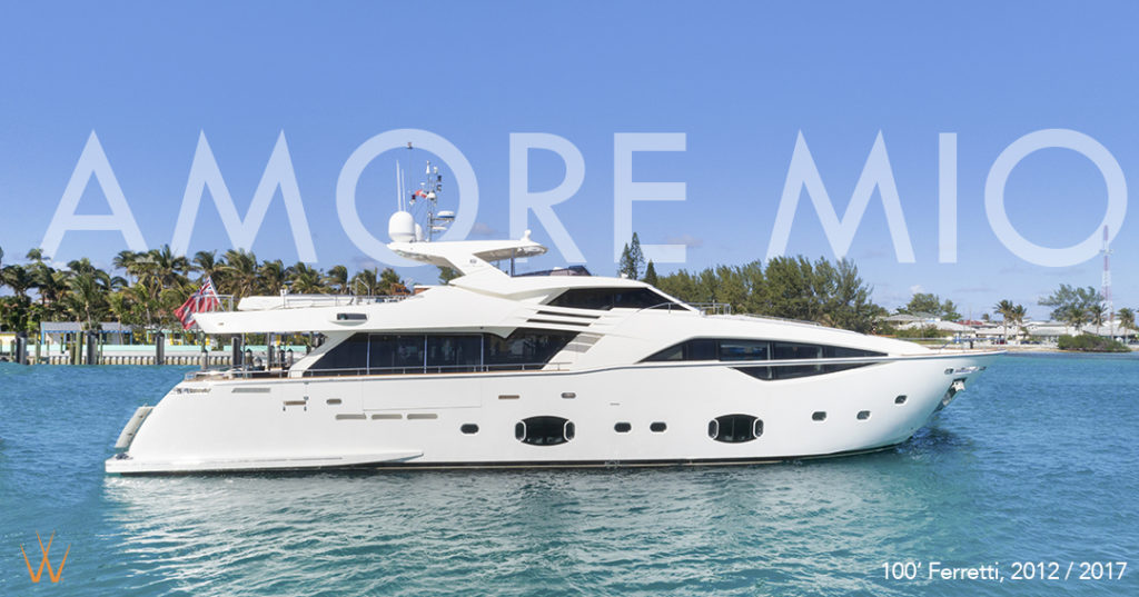 Luxury Yacht AMORE MIO Available for Charter