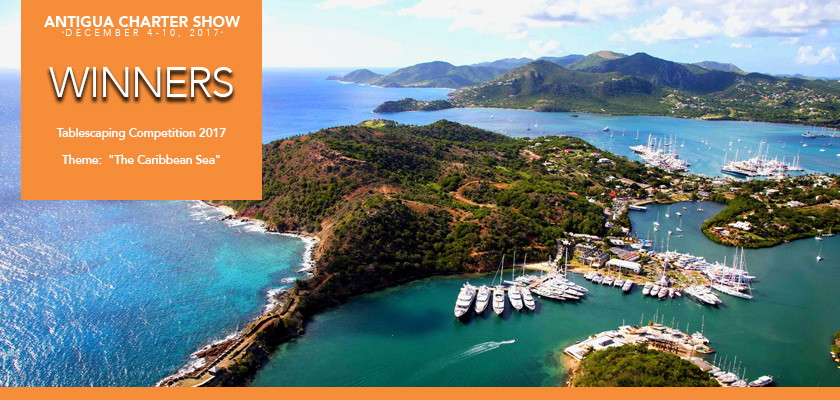 Antigua Charter Yacht Show Awards | THREE FORKS and BROADWATER