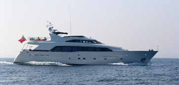 GREY PRINCESS 90 foot Bugari for sale