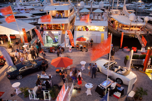 How to sell a boat - display at a yacht show