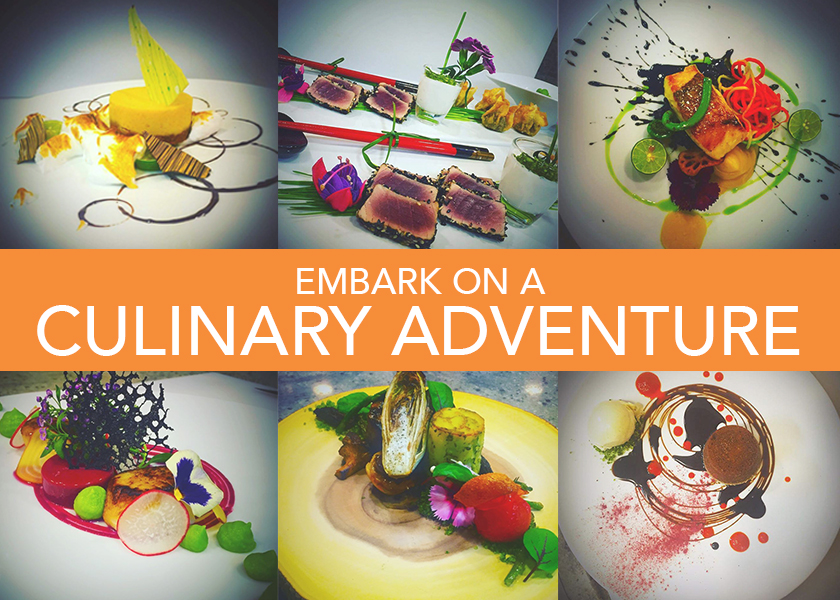Embark on a Culinary Adventure aboard 165′ BROADWATER Feadship