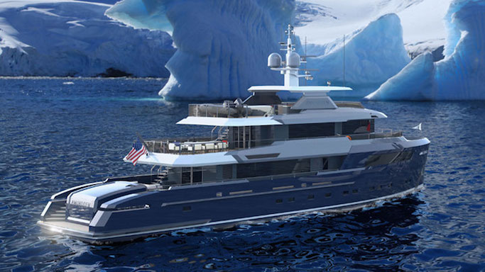 Dutch yacht builders Hartman Marine Group yacht AMUNDSEN